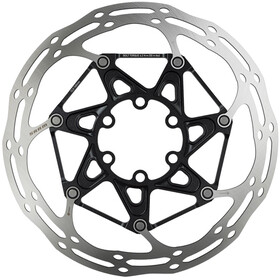SRAM Centerline Rounded Bremseskive to-delt, silver/black